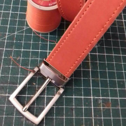 Ceinture orange ingrassato